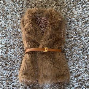 Nice faux fur vest